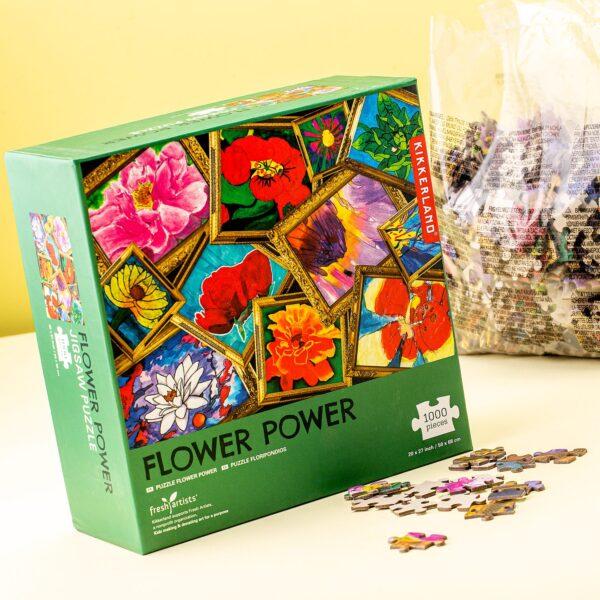 1000 Stukjes Puzzel - Flower Power