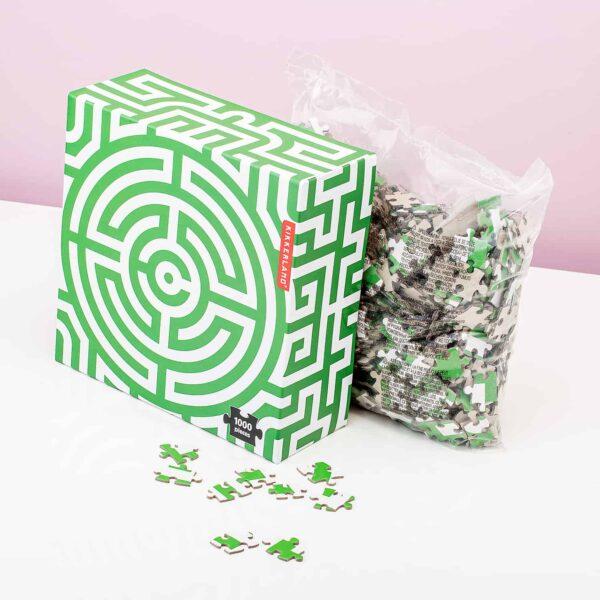 1000 Stukjes Puzzel - Labyrinth