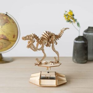 3D Puzzel Op Zonne-energie - Dinosaurus
