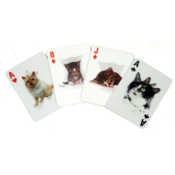3D Speelkaarten - Katten