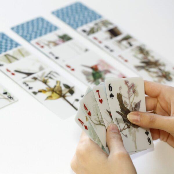 3D Speelkaarten - Vogels