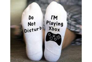 'Do not disturb' sokken I'm playing Xbox