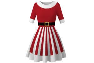 Foute kerstjurk Maat S - #B - Kerstvrouw