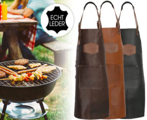 Grillmaster Leren BBQ Schort