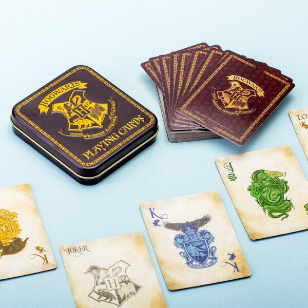 Harry Potter Hogwarts Speelkaarten