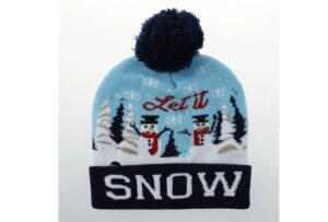 Kerstmuts met lichtjes 10 - Let it snow 2