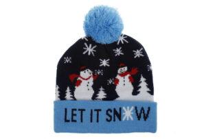 Kerstmuts met lichtjes 5 - Let it snow 1