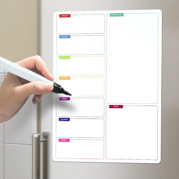Magnetisch Whiteboard - Boodschappenlijst