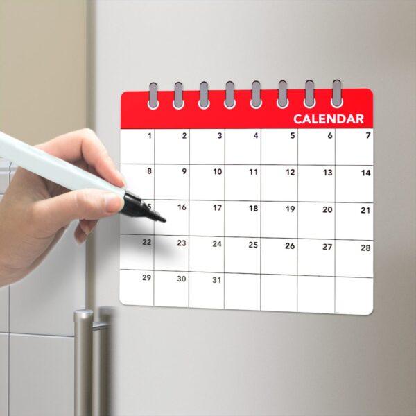 Magnetisch Whiteboard - Kalender