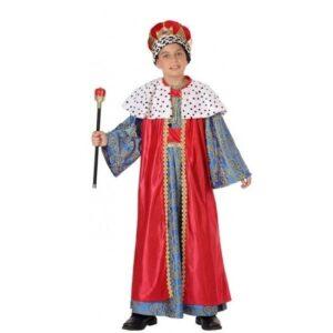 Melchior Drie Wijzen kostuum voor kids rood