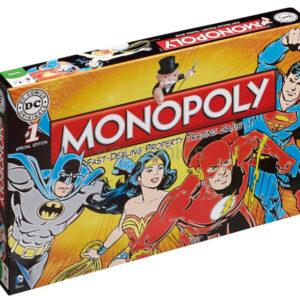 Monopoly bordspel Monopoly - DC Comics Retro