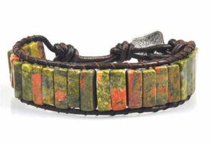 Natuurstenen Chakra armband 8