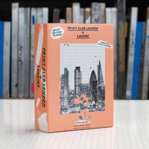 Print Club Londen Puzzel