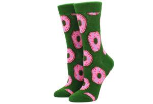 Printed Socks Donut