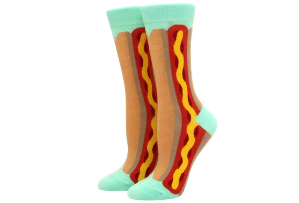 Printed Socks Hotdog