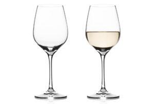 Vacuvin gin- of wijnglazen 2x Witte wijnglas