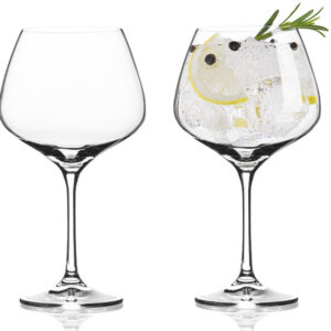 Vacuvin gin- of wijnglazen 4x Gin-tonic glas Vacuvin