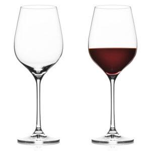 Vacuvin gin- of wijnglazen 4x Rode wijnglas Vacuvin