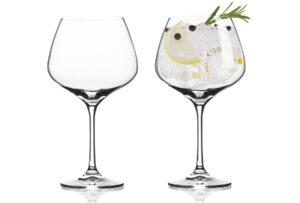 Vacuvin gin- of wijnglazen 6x Gin-tonic glas Vacuvin