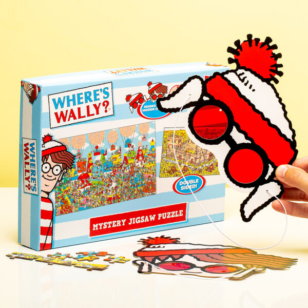 Where's Wally Mysterieuze Puzzel